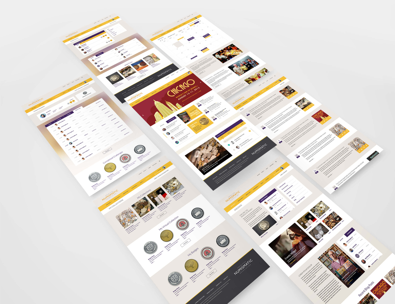 ana website design